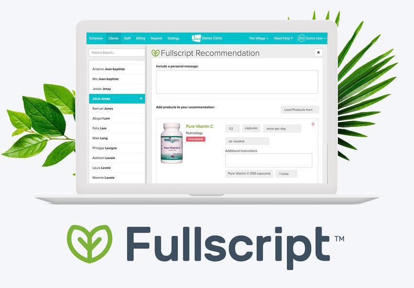 fullscript page healtspan kc